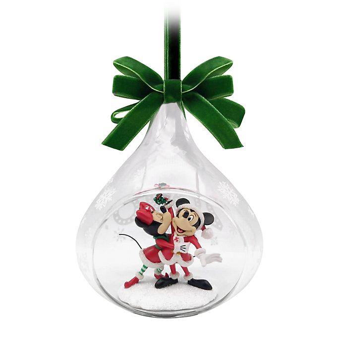 Adorno colgante Mickey y Minnie 2020, Holiday Cheer, Disney Store