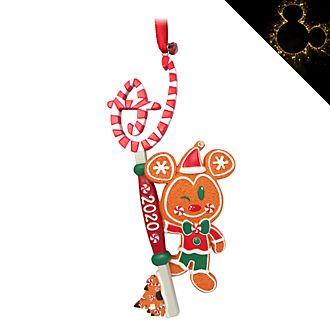 Disney Store - Micky Maus als Lebkuchenmännchen - Dekorationsstück zum Aufhängen