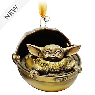 Disney Store The Child Bronze-Toned Hanging Ornament, Star Wars