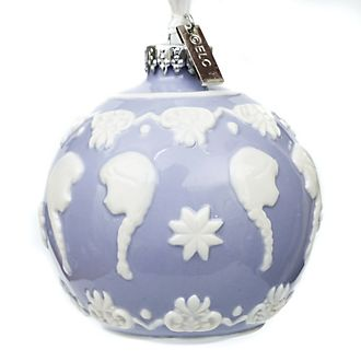 English Ladies Co. Anna Fine China Hanging Ornament, Frozen