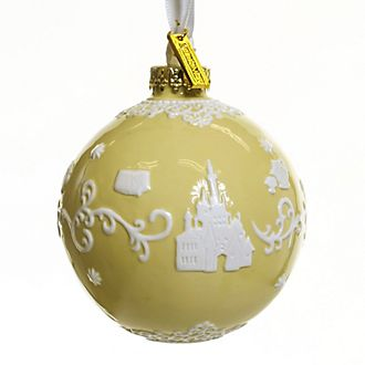 English Ladies Co. Beauty and the Beast Fine China Hanging Ornament