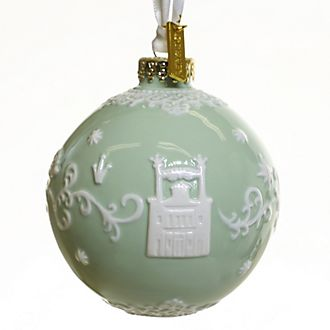 English Ladies Co. The Princess and the Frog Fine China Hanging Ornament