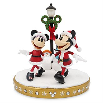 Disney Store Mickey and Minnie Light-Up Figurine