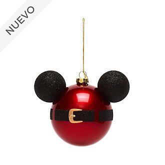 Adorno colgante icono Mickey Papá Noel, Disney Store