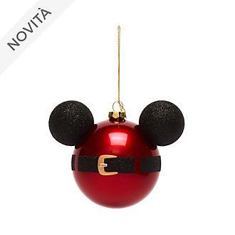 Decorazione da appendere Topolino Babbo Natale Disney Store