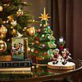 Statuetta luminosa Albero di Natale Topolino e i suoi amici Walt Disney World