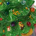 Walt Disney World Mickey and Friends Christmas Tree Light-Up Figurine