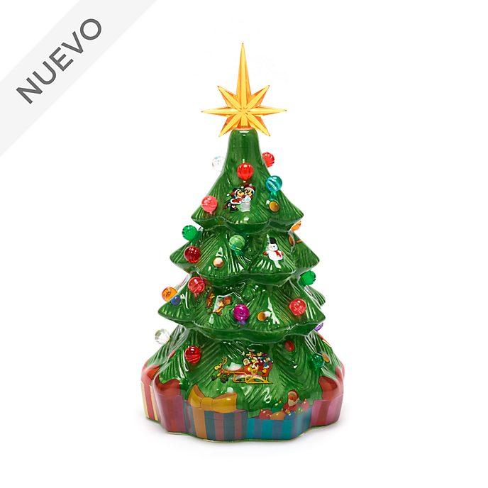 Walt Disney World figurita con luz árbol Navidad, Mickey y sus amigos