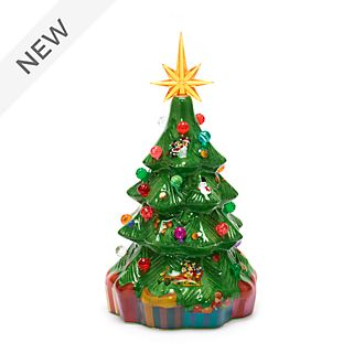 Walt Disney World Mickey and Friends Christmas Tree Light-Up Figurine