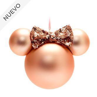 Walt Disney World adorno colgante icono Minnie en oro rosa