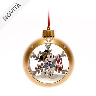 Decorazione natalizia luminosa da appendere Topolino e Minni Walt Disney World