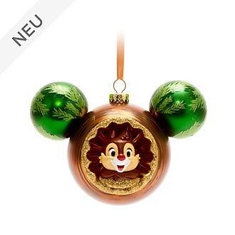 Walt Disney World - Chip & Chap - Kugel in Form des Micky Symbols - Dekorationsstück zum Aufhängen