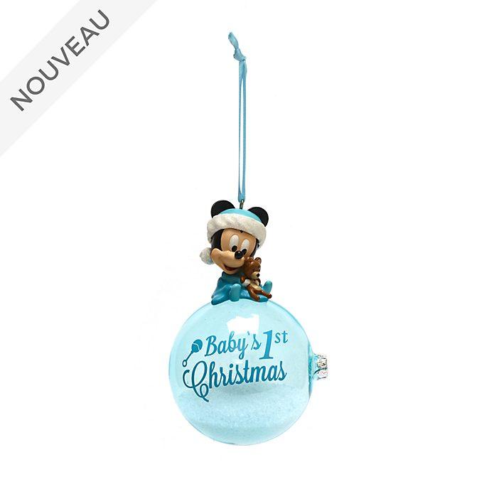 Disney Store Décoration Premier Noël Mickey à suspendre