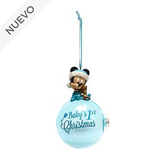 Adorno colgante de primeras Navidades Mickey Mouse, Disney Store