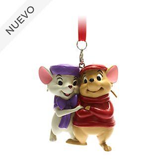 Adorno colgante Bernardo y Bianca, Los Rescatadores, Disney Store