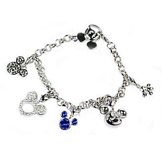 Arribas Mickey Mouse Charm Bracelet