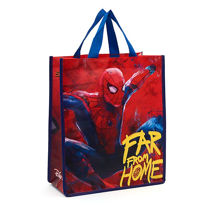 Disney Store Sac de shopping Spider-Man: Far From Home réutilisable, moyenne taille