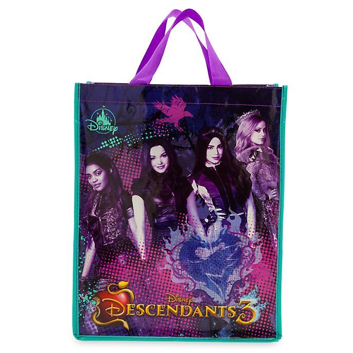 Disney Store Sac de shopping Disney Descendants 3 réutilisable, moyenne taille