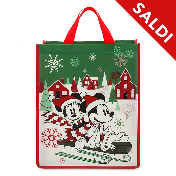 Borsa riutilizzabile standard Holiday Cheer Topolino e Minni Disney Store