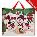 Bolsa reutilizable extragrande, Mickey y sus amigos, Holiday Cheer, Disney Store