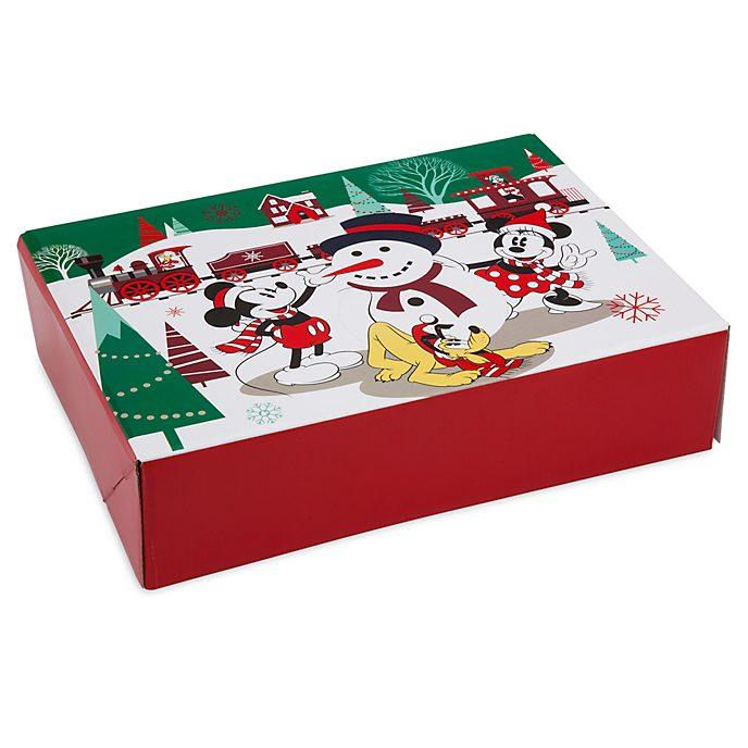 Caja de regalo pequeña Mickey y sus amigos, Holiday Cheer, Disney Store