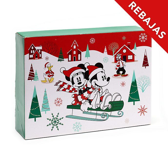 Caja de regalo grande Mickey y sus amigos, Holiday Cheer, Disney Store