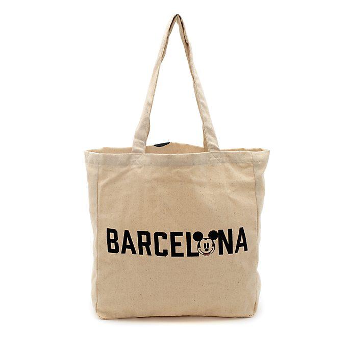 Bolsa compra reutilizable Barcelona Mickey Mouse, Disney Store