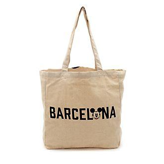 Borsa riutilizzabile Barcellona Topolino Disney Store