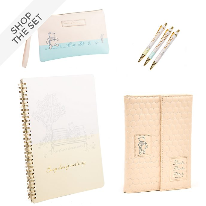 Disney Store Winnie the Pooh Stationery Collection