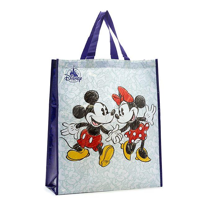 Disney Store Borsa riutilizzabile grande Topolino e Minni