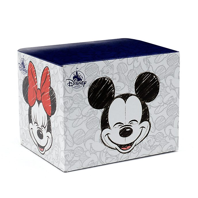 Disney Store Boîte à mugs Mickey et Minnie Mouse