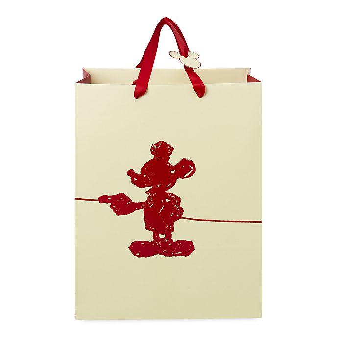 Bolsa para regalo mediana exclusiva Mickey Mouse, Disney Store