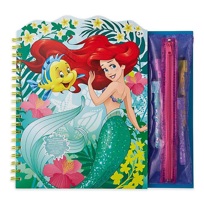 Disney Store - Arielle, die Meerjungfrau - Abwischbares Malbuch