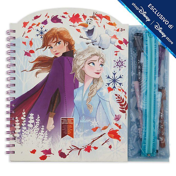 Album da disegno cancellabile Frozen 2: Il Segreto di Arendelle Disney Store