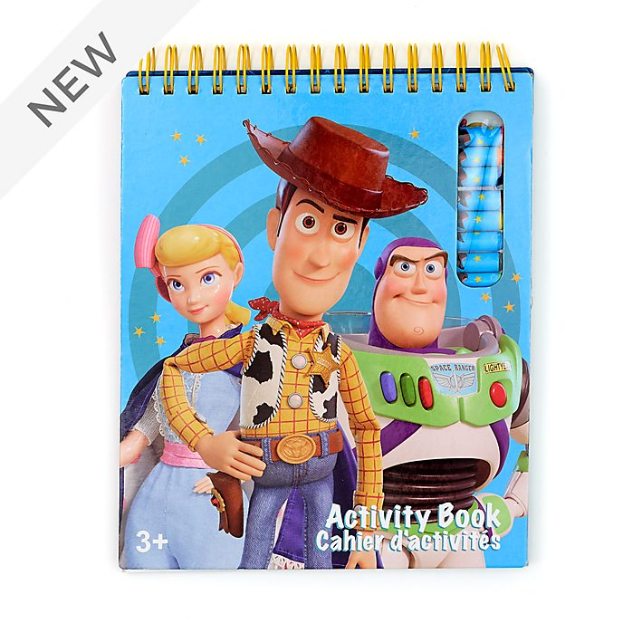 Disney Store Toy Story 4 Activity Book