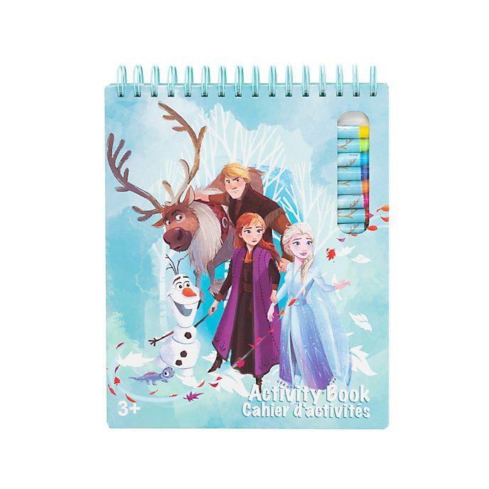 Cuaderno actividades Frozen 2, Disney Store