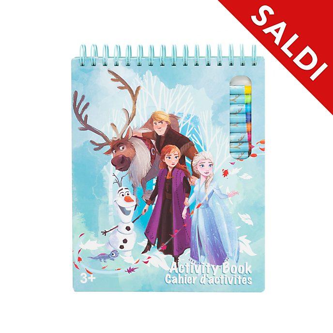 Libro di attività Frozen 2: Il Segreto di Arendelle Disney Store