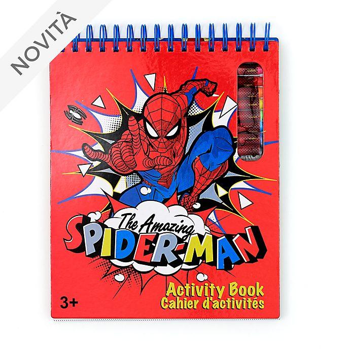 Libro di attività Spider-Man Disney Store