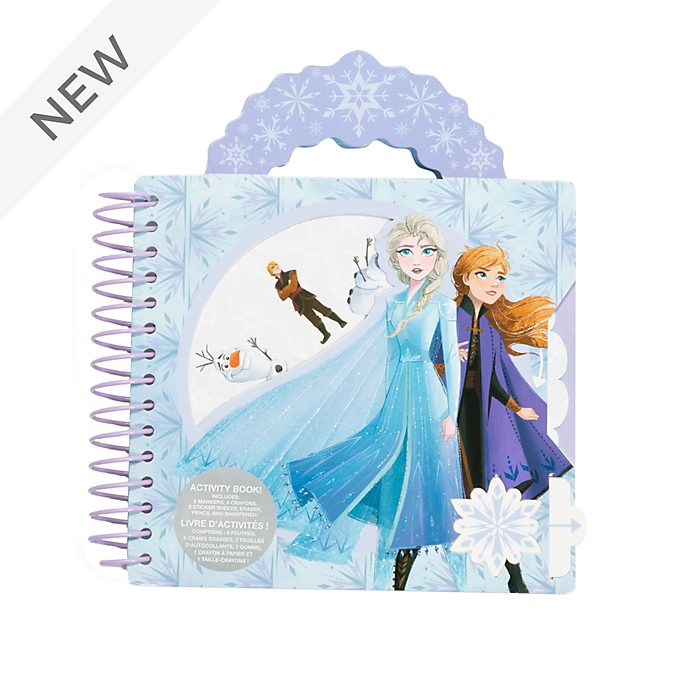 Disney Store Frozen 2 Ring-bound Activity Book
