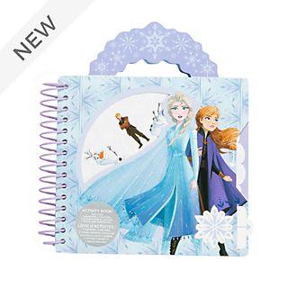 Disney Store Frozen 2 Ring-bound Activity Book