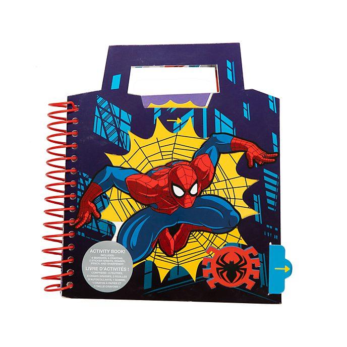 Disney Store Spider-Man Ring-bound Activity Book