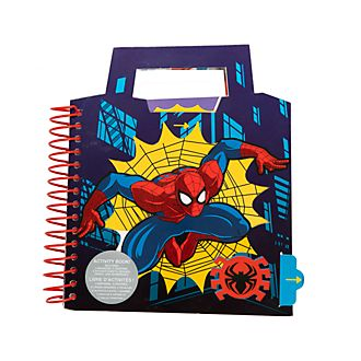 Disney Store Spider-Man Ring-bound Activity Book