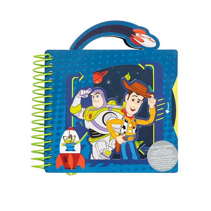 Disney Store Toy Story Ring-bound Activity Book