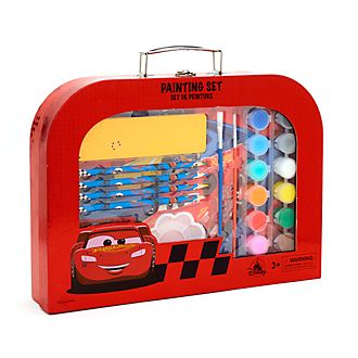 Disney Store Lightning McQueen Painting Set