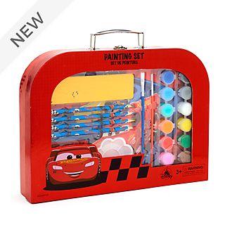 Disney Store Lightning McQueen Painting Set