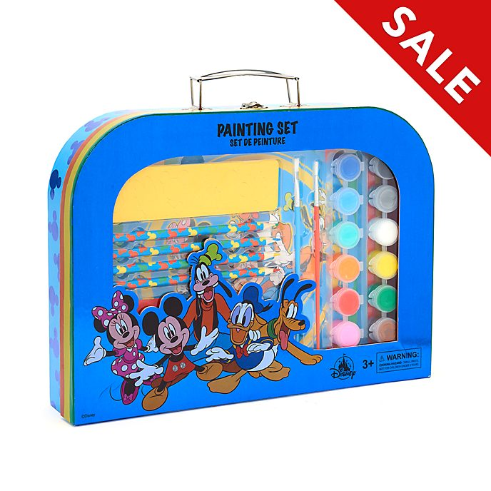 Disney Store - Micky und Freunde - Malset