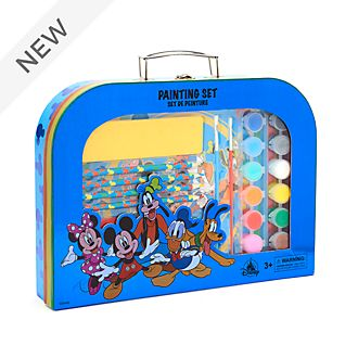 Disney Store Mickey and Friends Painting Set