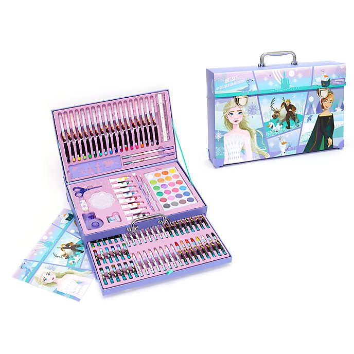 Disney Store Frozen 2 Deluxe Art Kit