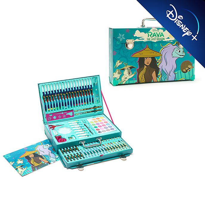 Disney Store Raya and the Last Dragon Deluxe Art Kit