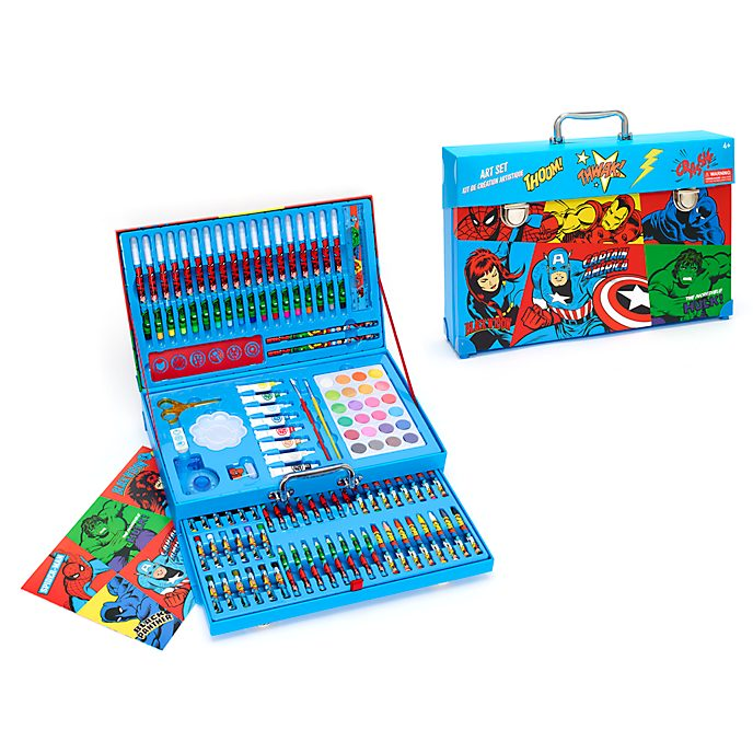 Disney Store Marvel Deluxe Art Kit